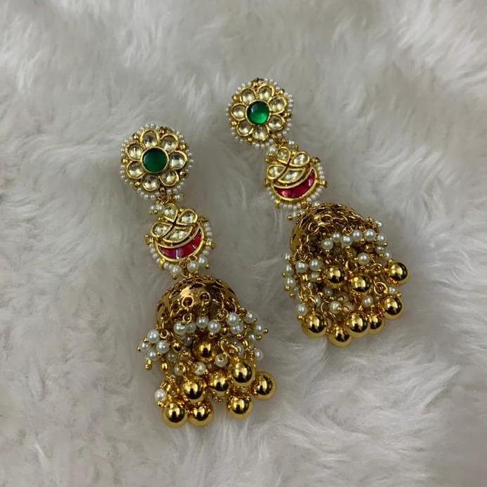 Designer Artificial Jumkha Earrings