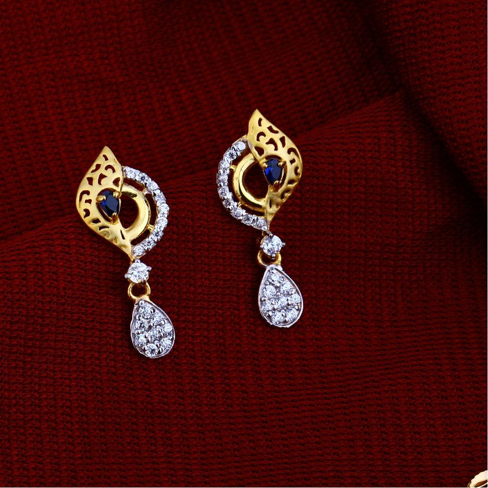 22kt Gold Hallmark  Fancy Chain Necklace CN64