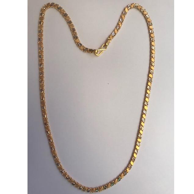 916 Gold Fancy Chain For Men DC-C001