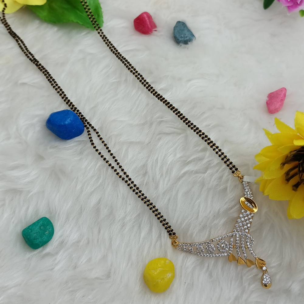 916 GOLD LIGHT ETHICALLY FANCY MANGALSUTRA