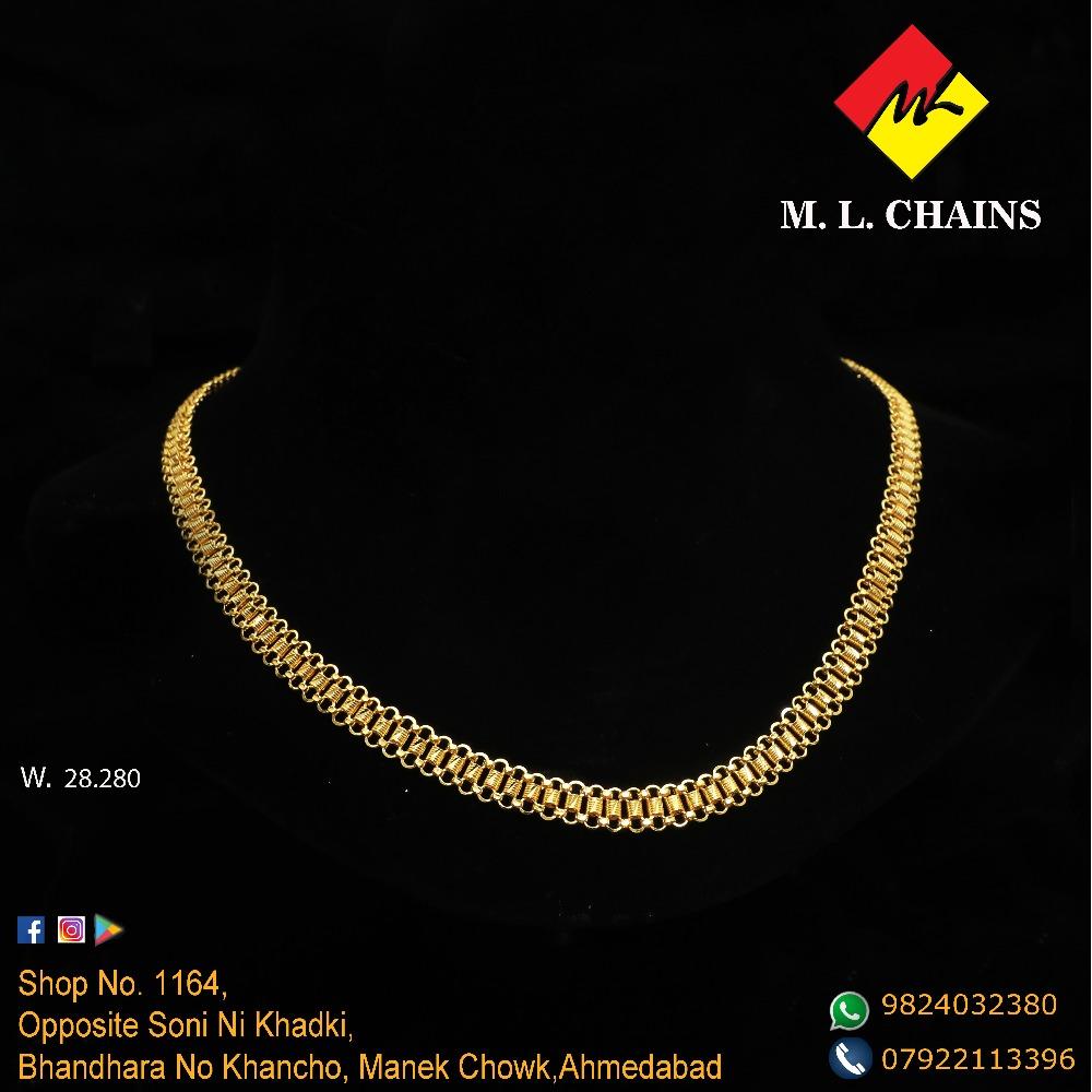 916 Gold Chain For Men ML-C17
