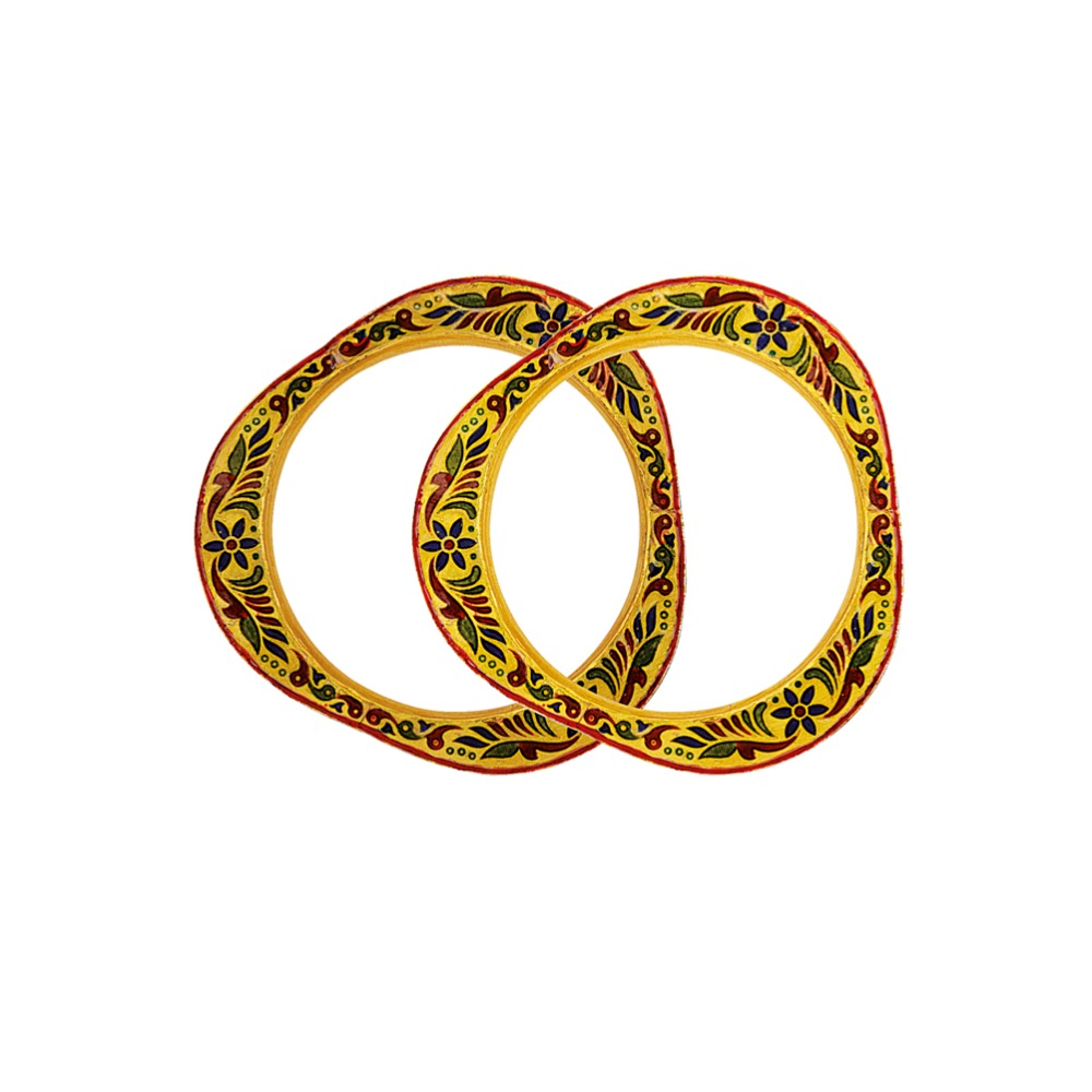 916 Gold Antique Copper Kadli Bangle RJA-006