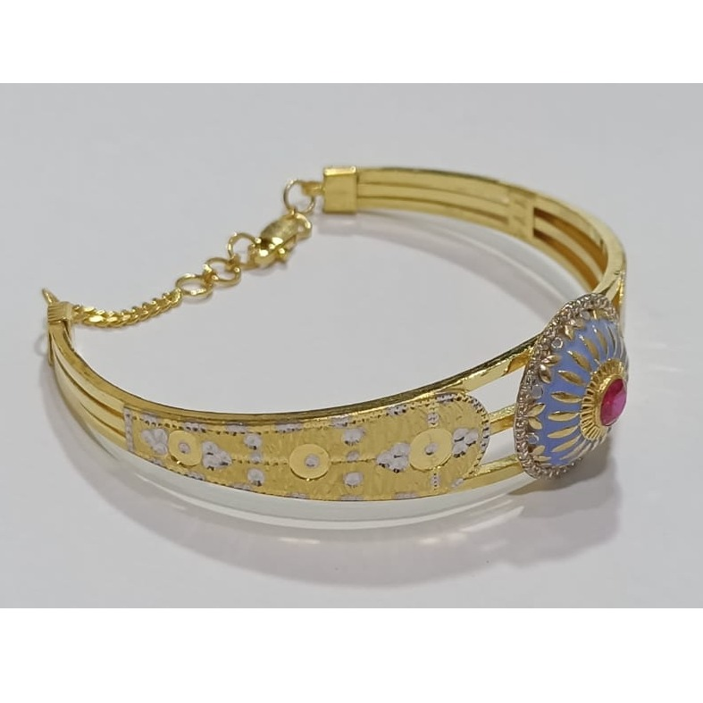 22kt gold stylish ladies bracelet sg-b04