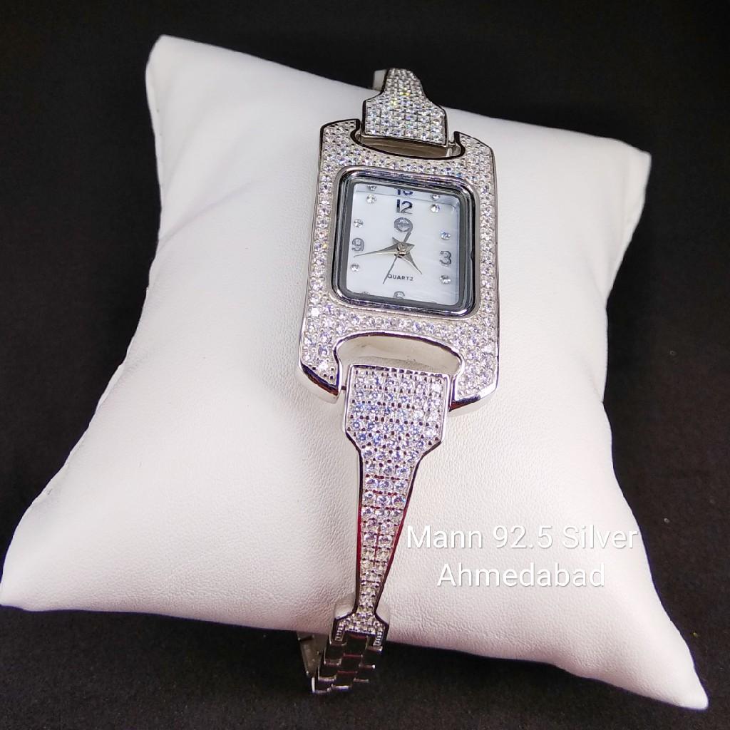 92.5 sterling silver exclusive ladies watch ml-009