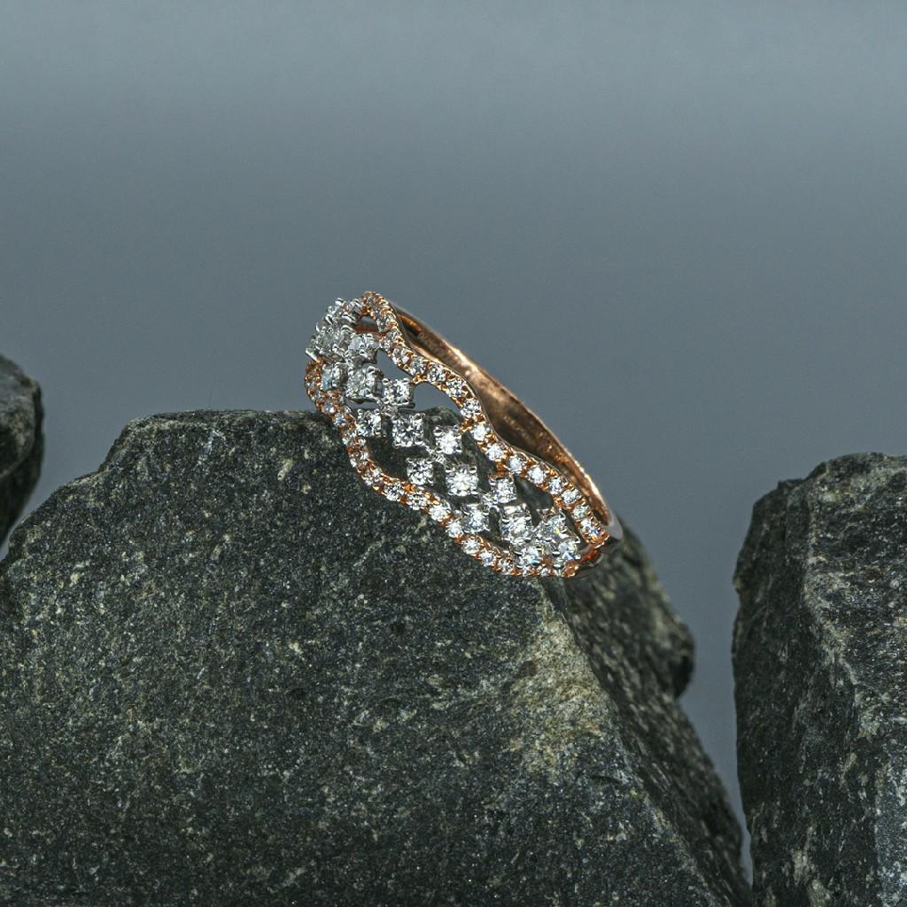 Real diamond ladies Ring