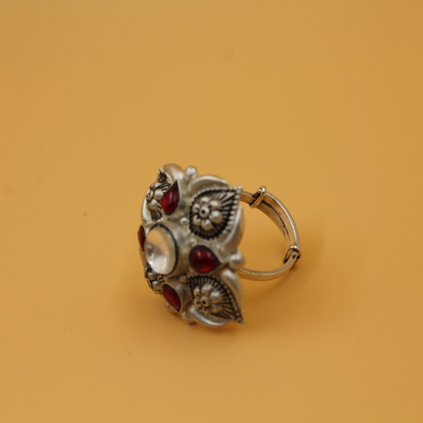 92.5 ANTIQUE SILVER RING SL R044