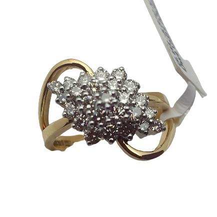 Evergreen diamond ring