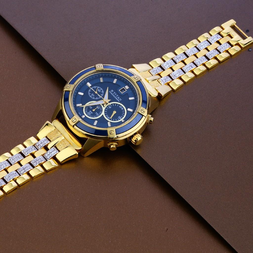 22kt Gold Hallmark Designer Mens Watch MW14