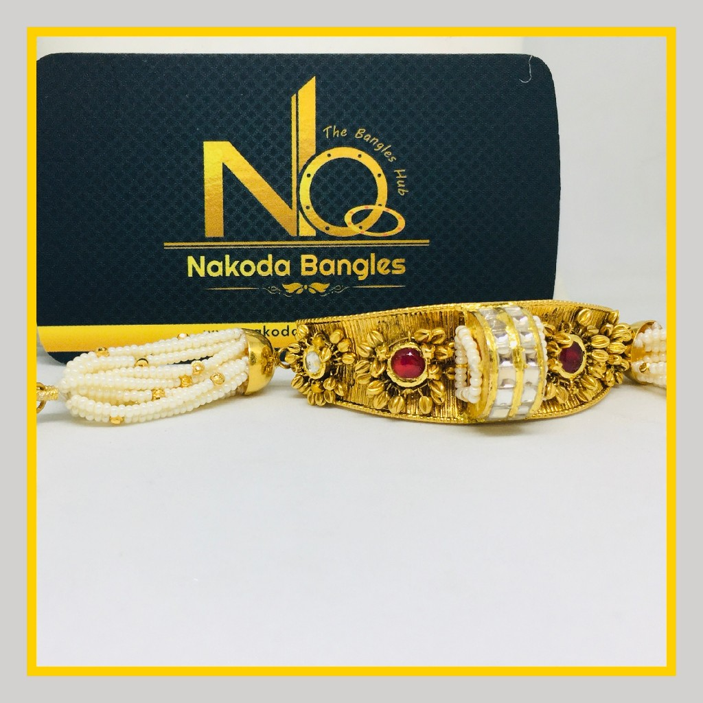 916 Gold Antique Bracelet NB - 1032