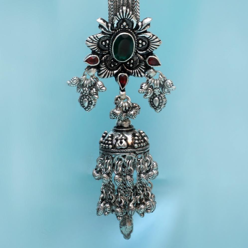 999 Silver Antique Ghughari Juda PJ-P005