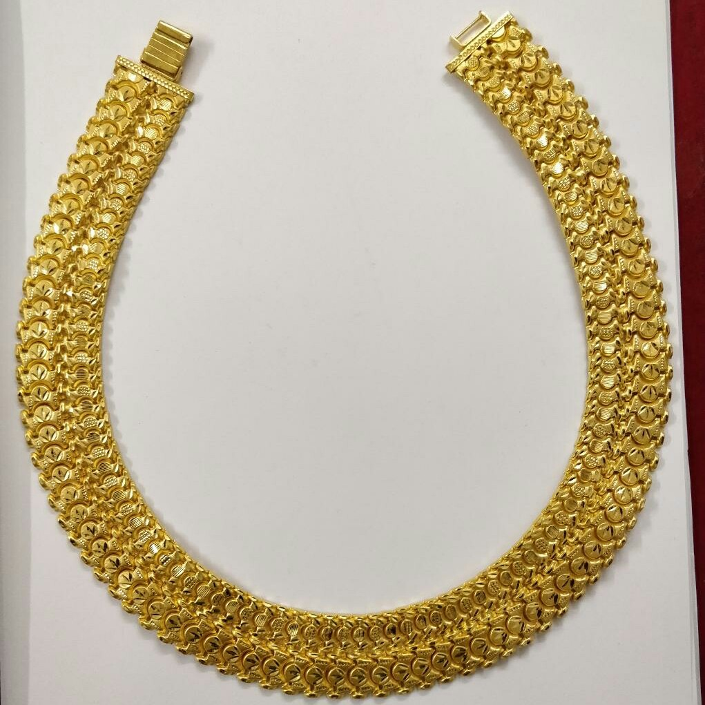 916 gold bahubali chain