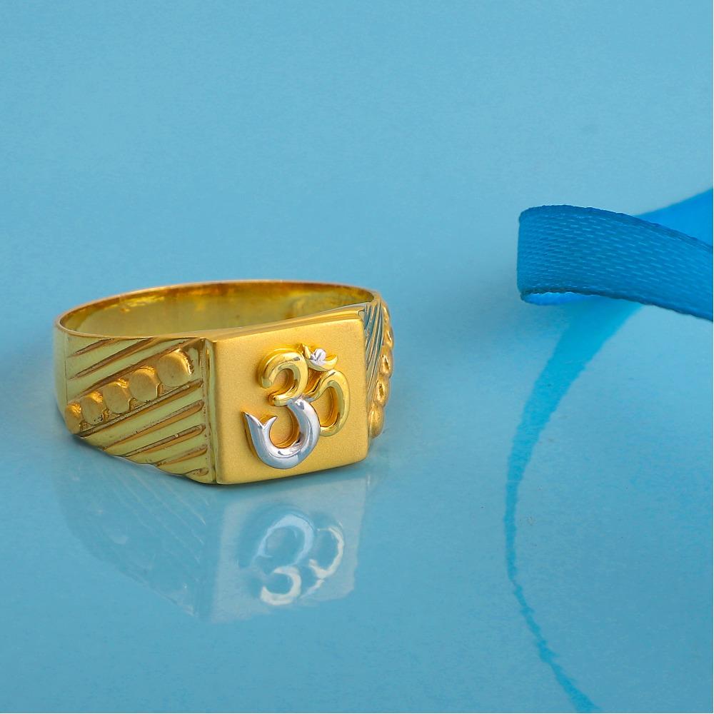916 gold plain god design