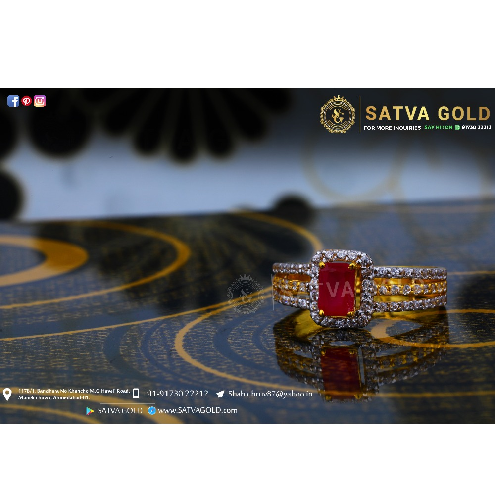 916 gold ring sgr-0049