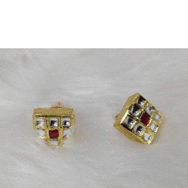 Gold Antique Jadtar Earring