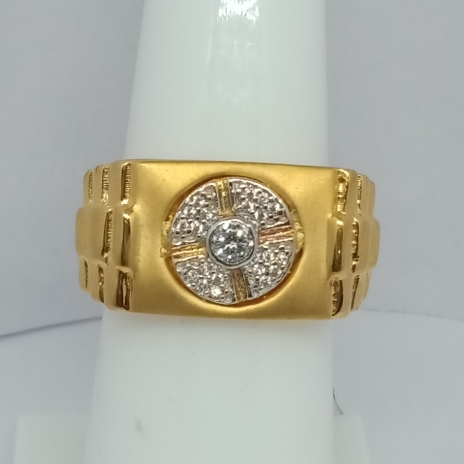 22KT Gold Gents Ring LJ-11