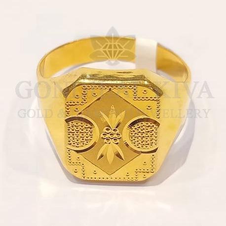 22kt gold ring ggr-h82