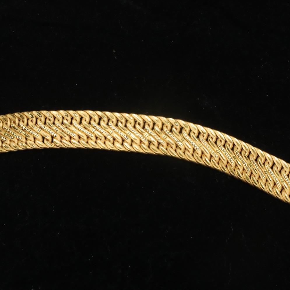 916 gold designer bracelet for men ml-b001