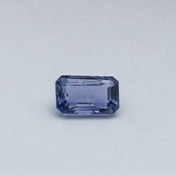 2.21ct square purple sapphire