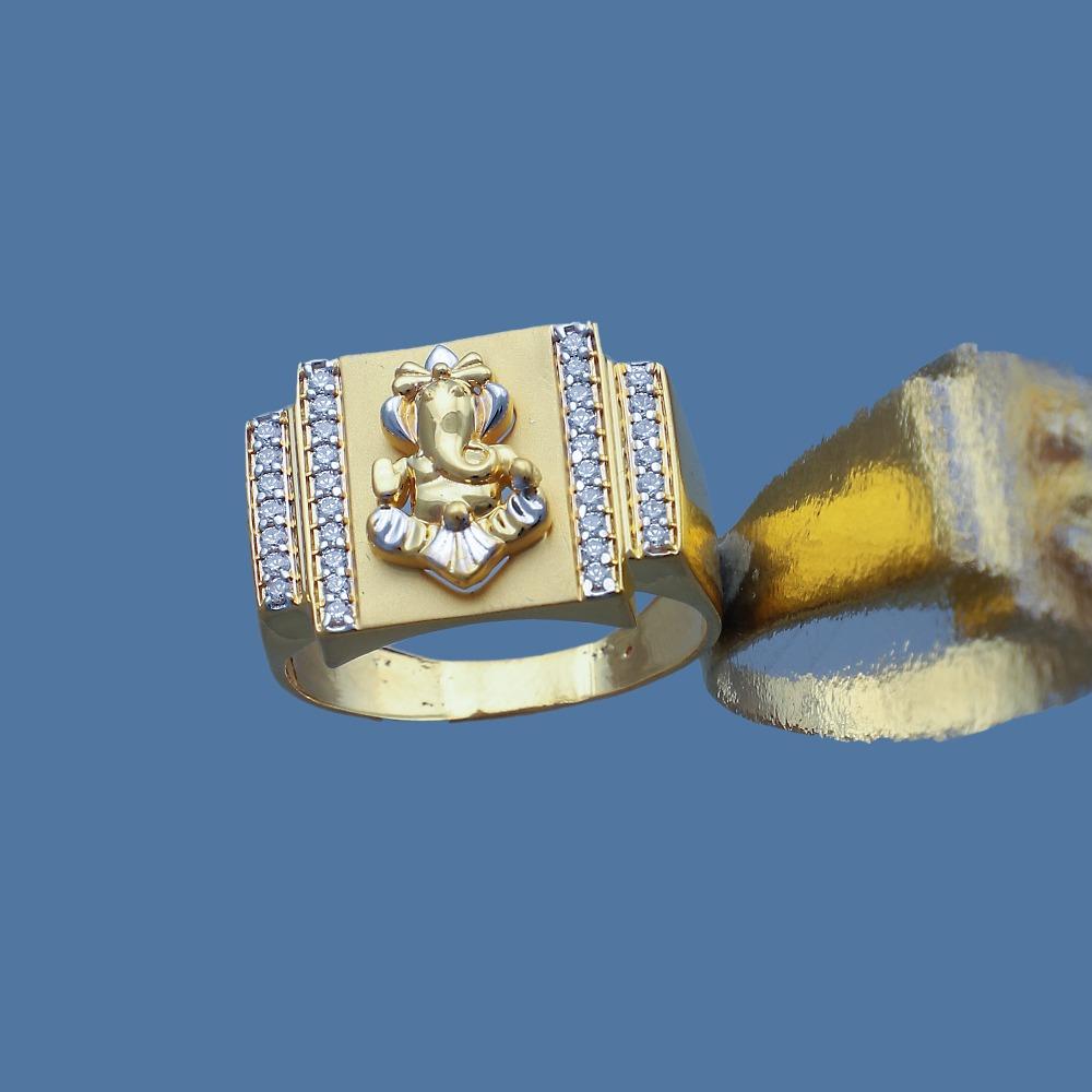 916 gold cz design