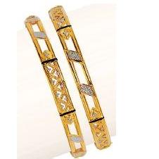 Gold 916 Double Pipe Kadli
