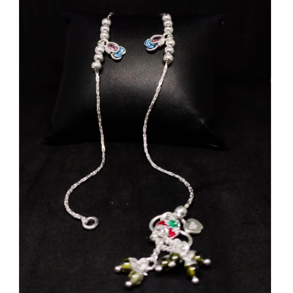silver antiq ladies payal rH-LA901