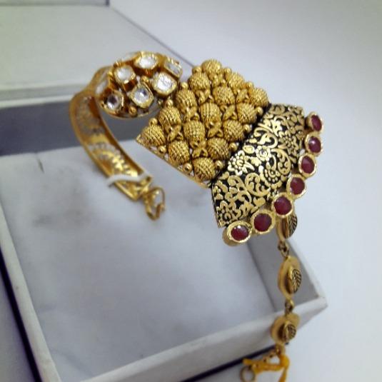 916 Gold Antique Bracelet For Women CMJ-B002