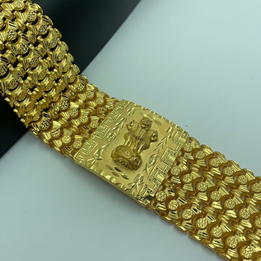916 gold bracelate for gents