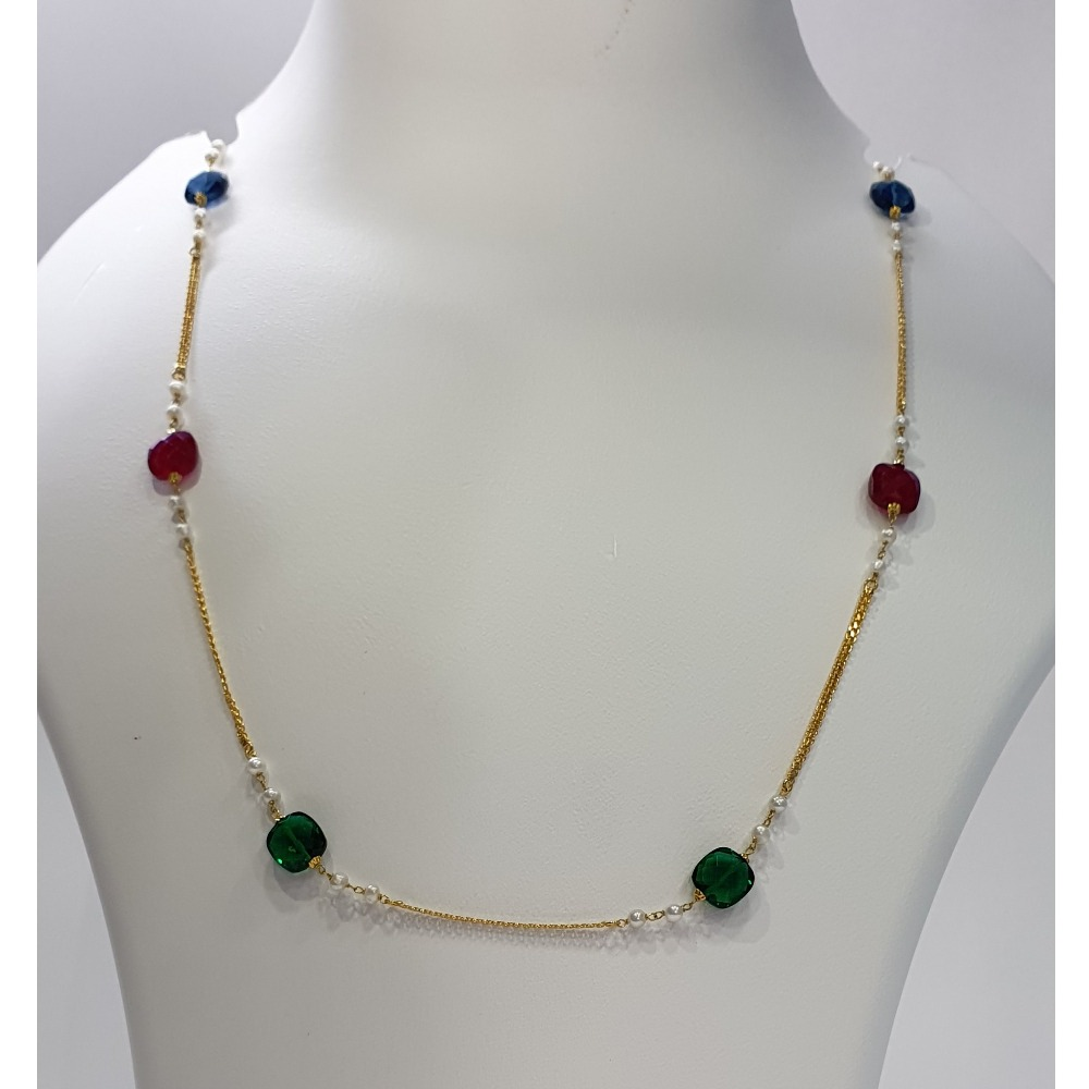 18k gold designer chain
