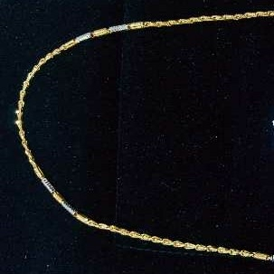 Handmade Fancy Gold Chain