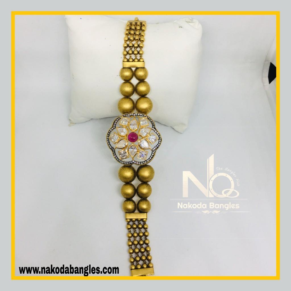916 Gold Antique Bracelet NB - 567
