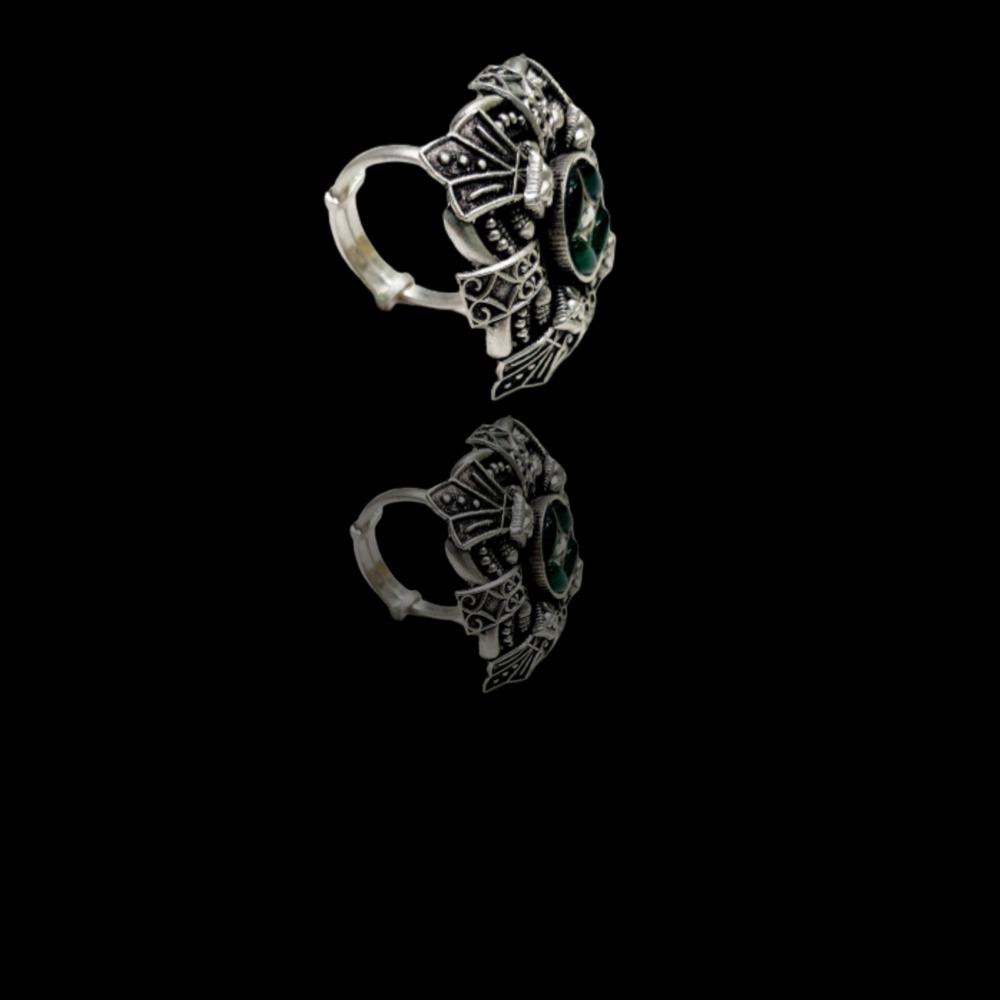 92.5 silver royal Padmavati ring