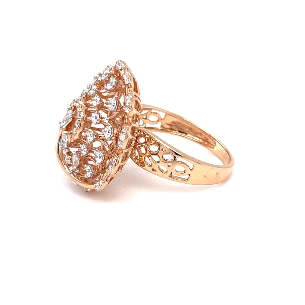 Inspired by the wishing tree designer cocktail diamond ring