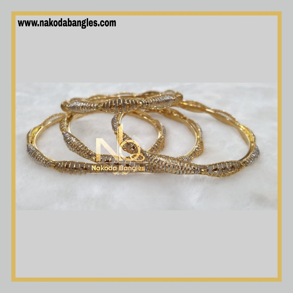 916 Gold Italian Bangles NB - 866