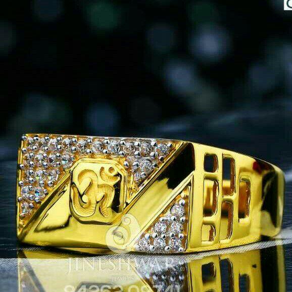 Exclusive Cz Gents Ring