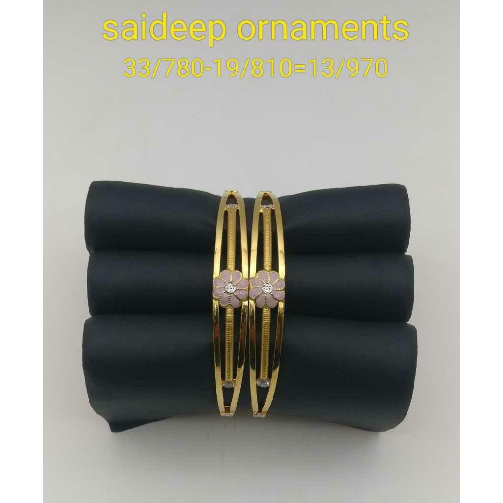 22 Kt 916 Copper Bangle Design