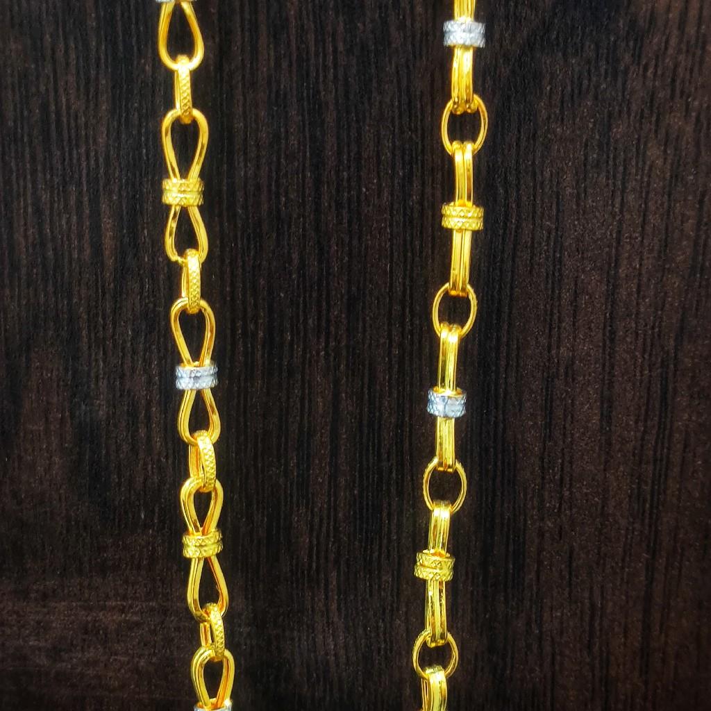 22 carat indo italian chain 10.00gm