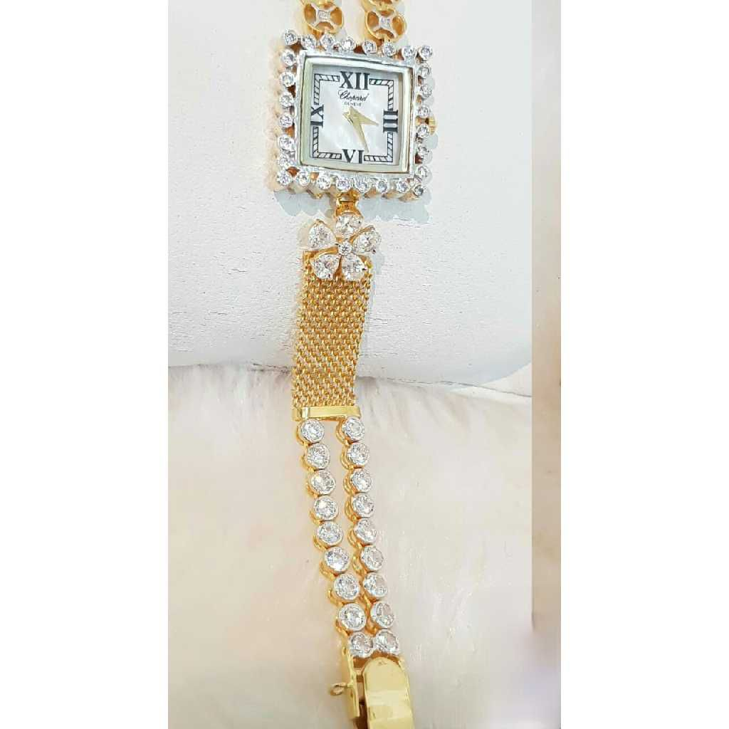 18k Ladies Fancy Gold Watch G-2914