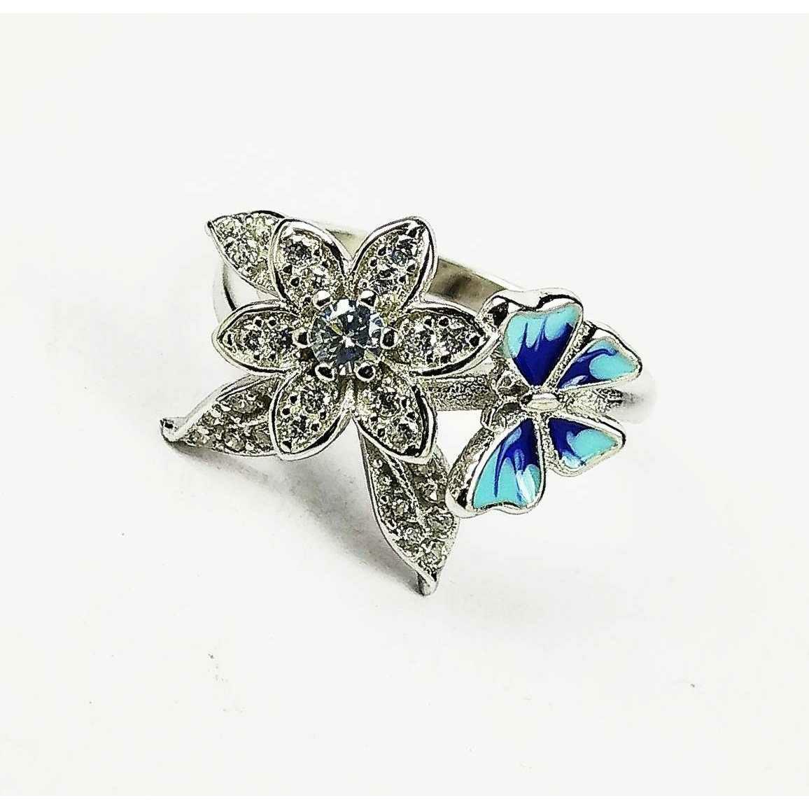 Descent designer 925 silver ladies ring