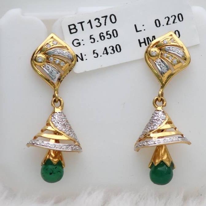 916 Gold diamond Zummer Butti ZB_0002