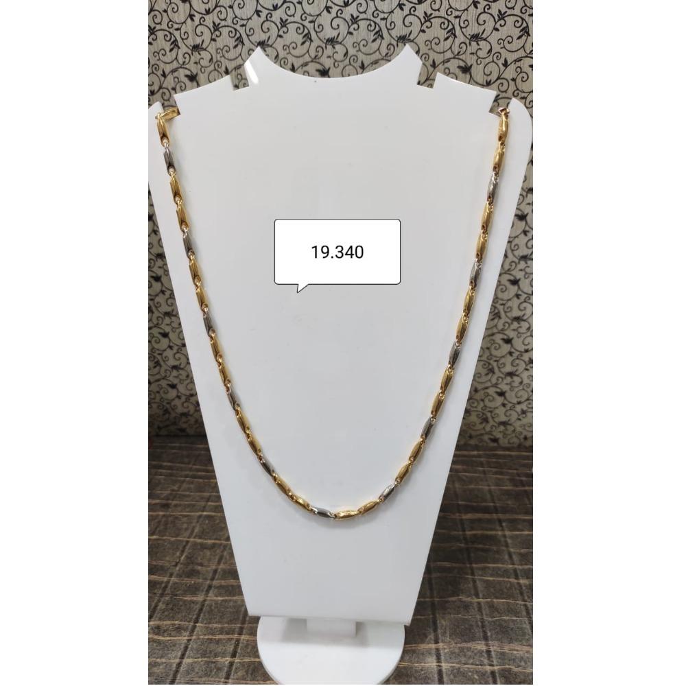 916 Gold Designer Chain For Men MJ-C001