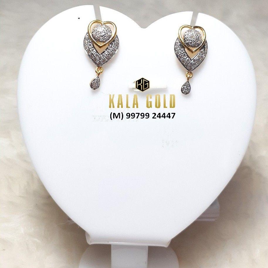 916 CZ Stylish Earrings