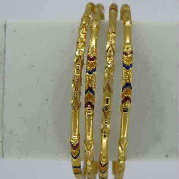 916 gold copper kadli 4 piece