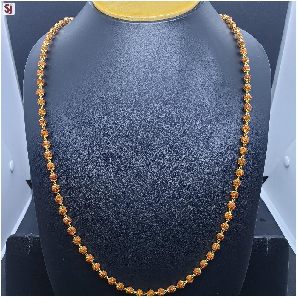 Rudraksh Mala Gross RMG-0063 Wight-14.890 Net Weight-11.860