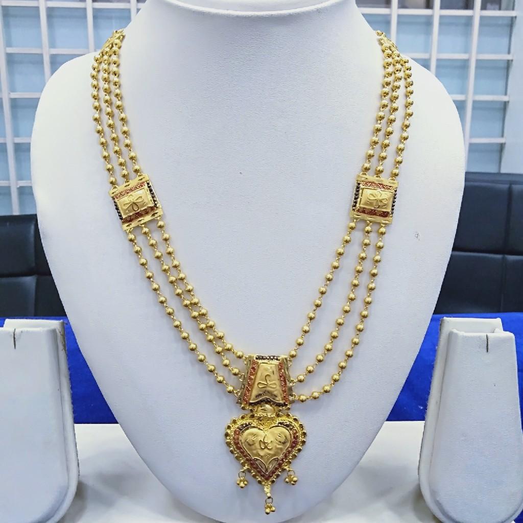 916 Gold fancy Mala M001