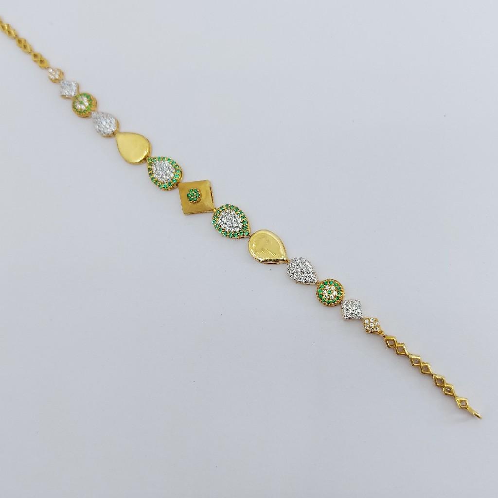 916 Gold Ladies Bracelet