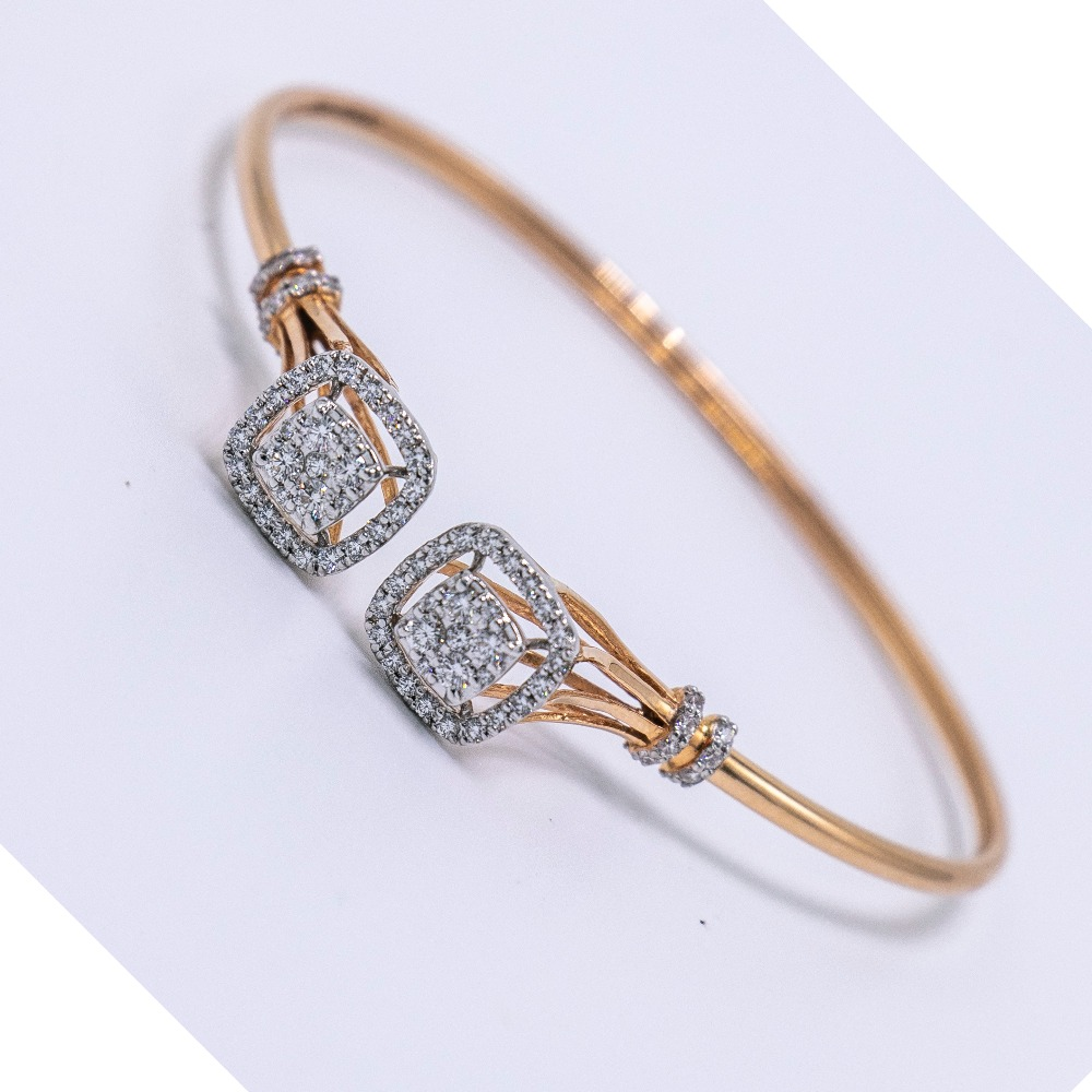 18K gold diamond bracelet  agj-br-60