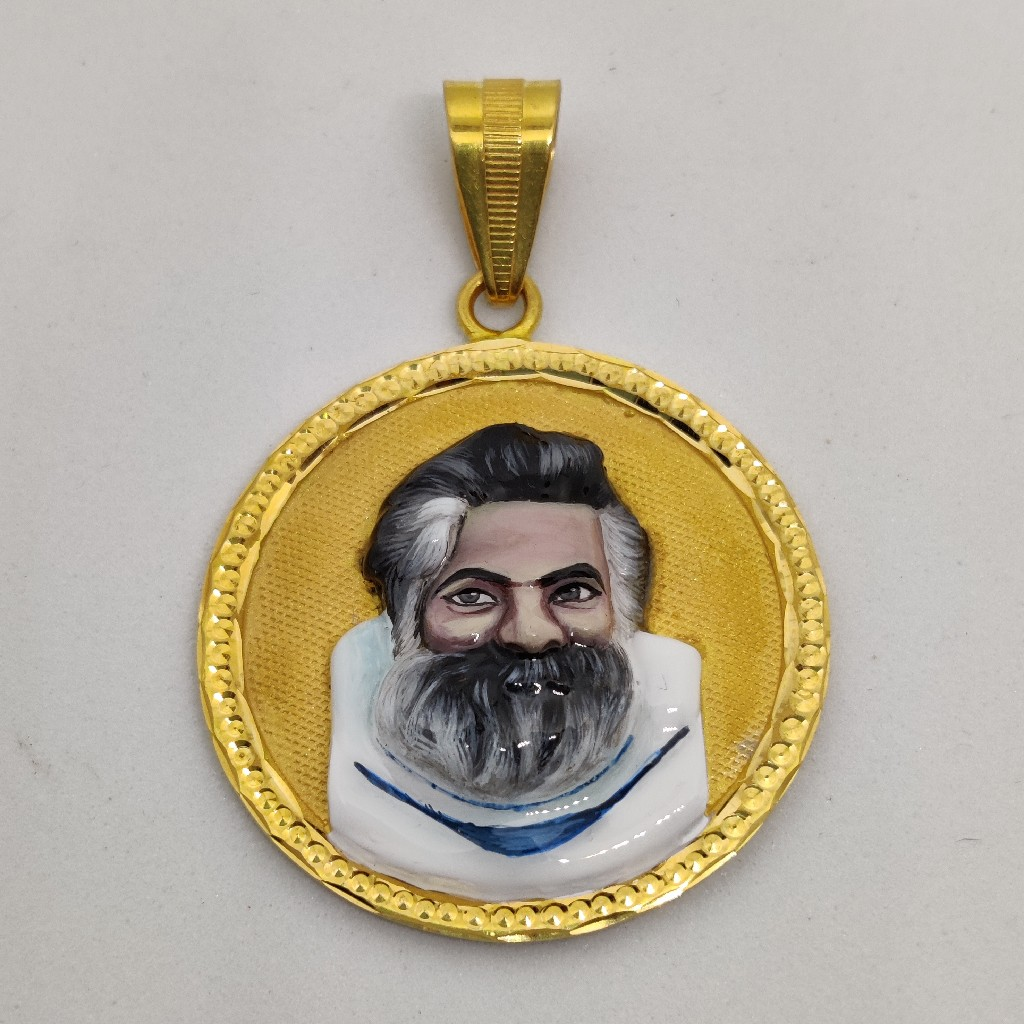 916 Gold Fancy Gent's Sant Suri Maharaj Pandal