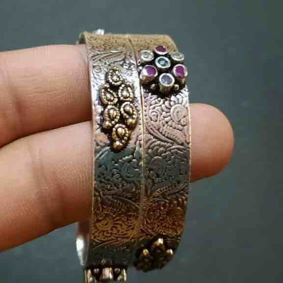 925 sterling silver antique bangles