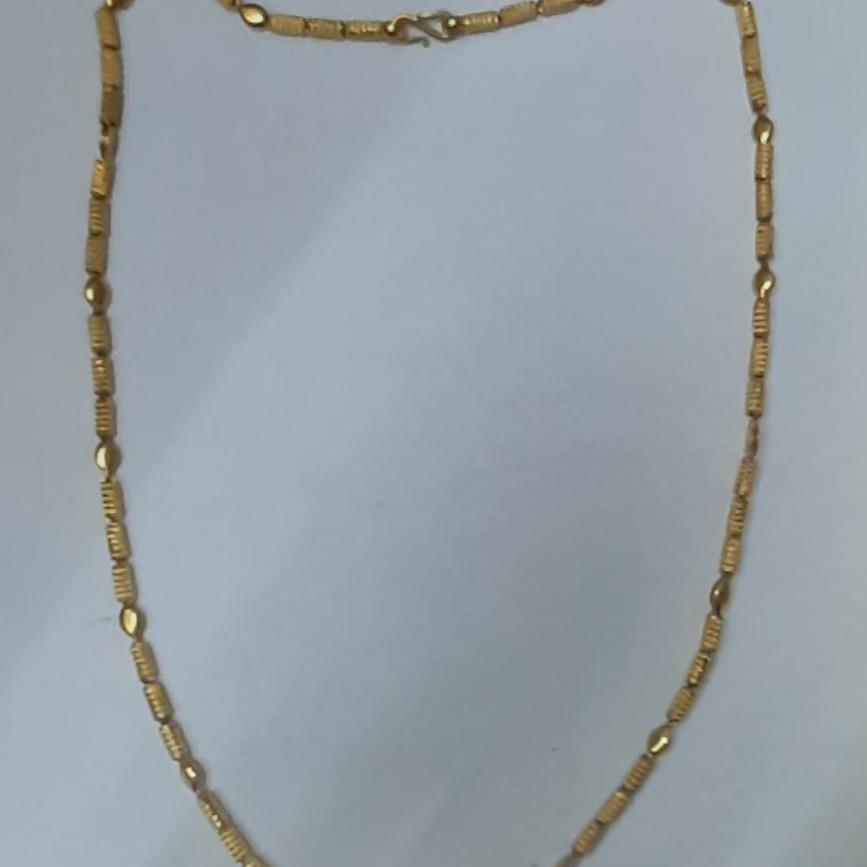 Traditional handmade gold chain