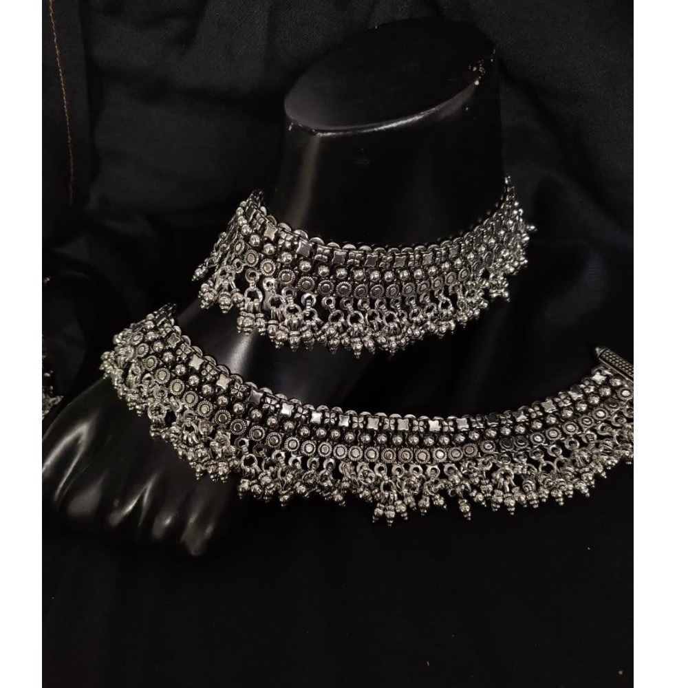 925 Pure Silver Antique Payal Handmade PO-208-20